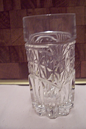 Crystal Pattern Glass Tumbler