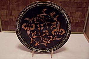 Copper & Black Enamel Decorative Wall Plaque (Image1)
