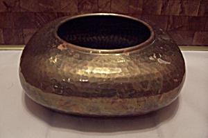 Hammered Brass Spitoon (Image1)
