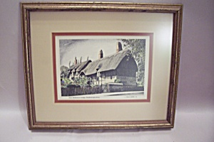 Anne Hathaway's Cottage Framed Art Print