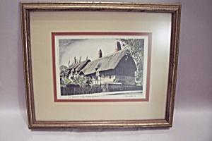 Anne Hathaway's Cottage Framed Art Print (Image1)