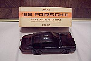 Avon 1968 Porsche Glass Automobile Bottle (Image1)