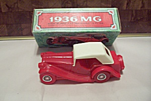 Avon 1936 Mg Glass Automobile Bottle With Box