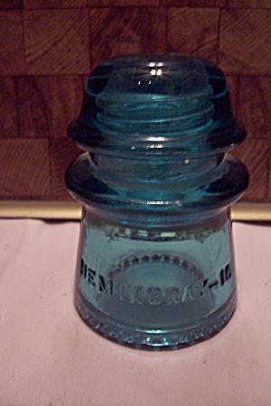 Hemingray #16 Aqua Glass Insulator (Image1)
