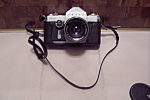 Sear Sl-11 Slr 35mm Film Camera With Soft Bag