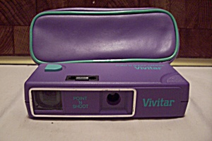 Vivitar Purple Point N' Shoot Film Camera