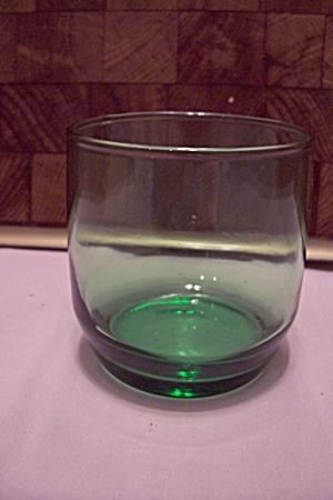 Green Glass High Ball Bar Glass (Image1)