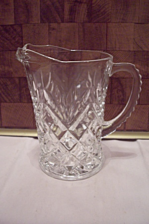 Fire King/anchor Hocking Pineapple Prescut Pitcher