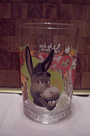 Mcdonald's Schrek The Third Souvenir Glass