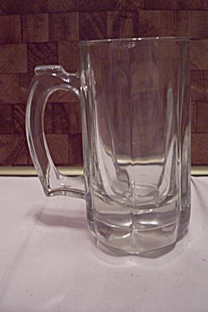 Crystal Glass 6-Sided Beer Mug (Image1)