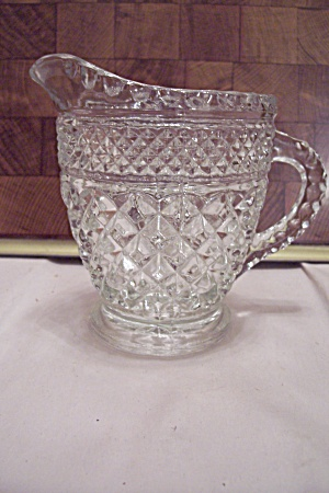 Fire King/Anchor Hocking Wexford  Crystal Glass Creamer (Image1)