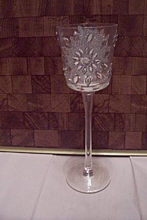Tall Crystal & Rhinestone Wine Glass (Image1)
