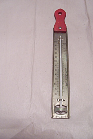 Taylor Red Handled Candy Cooking Thermometer (Image1)