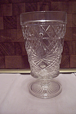 Fire King/anchor Hocking Oatmeal Crystal Tumbler