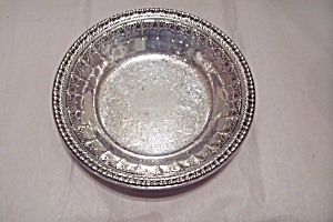 Reed E. Barton Silver Plated Candy Dish