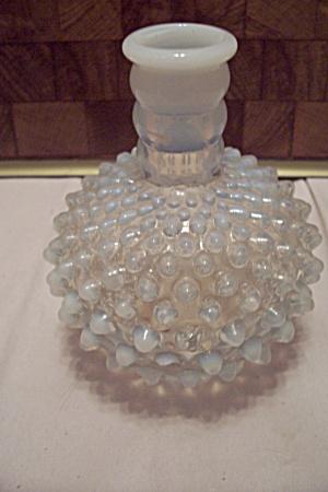 Moonstone Hobnail Glass Bottle (Image1)