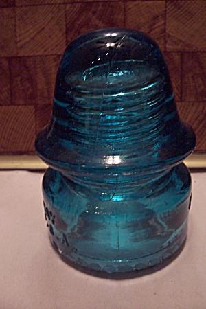 Hemingray #18 Aqua Glass Insulator (Image1)