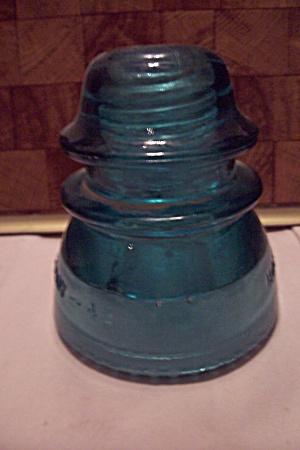 Hemingray #42 Aqua Glass Insulator (Image1)