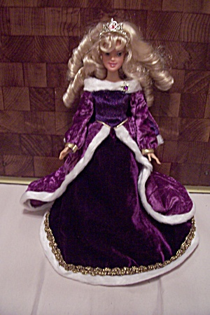 Barbie Doll In Royal Purple Outfit