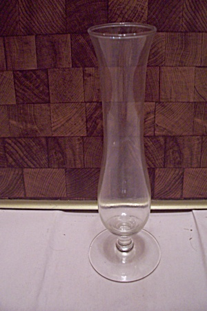Crystal Glass Pedestal Bud Vase