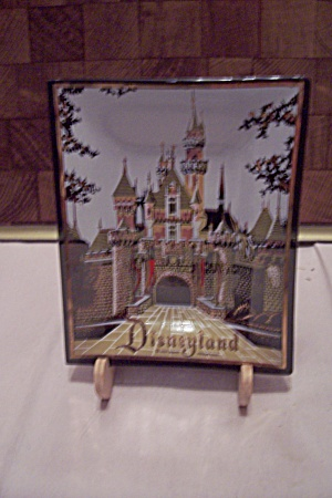 Disneyland Souvenir Glass Dish