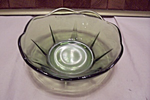 Avocado Green 8-sided Dessert/salad Bowl