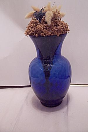 Indiana Cobalt Blue Illusions Vase (Image1)