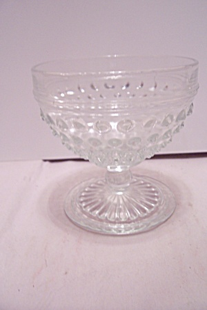 Crystal Hobnail Glass Sherbet (Image1)
