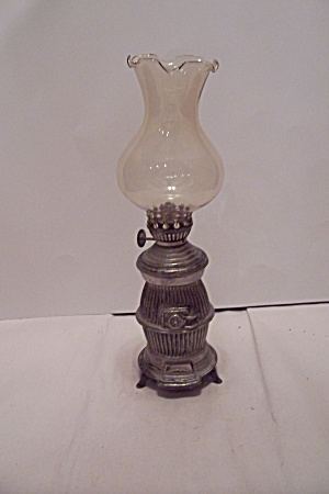 Miniature Vintage Stove Oil Lamp