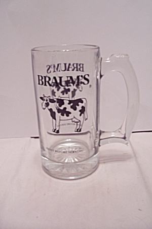 Braum's Crystal Glass Mug