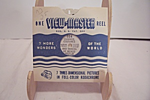 View-master 3-d Reel #524 Charros, Costumes, Mexico