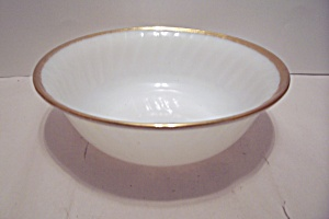 Fire King/ah Golden Anniversary Swirl Vegetable Bowl