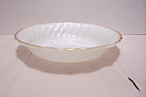 Fire King/ah Golden Anniversary Swirl Soup Bowl