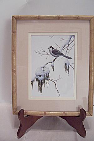 Luke Ruffin's Bird In Wintertime Art Print (Image1)