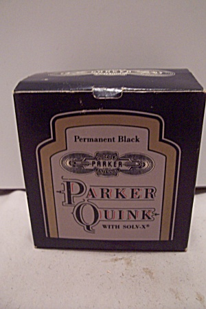 Parker Quink Permanent Black Ink (Image1)