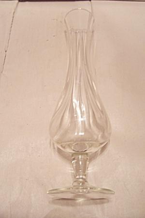Crystal Glass Pedestal Bud Vase (Image1)