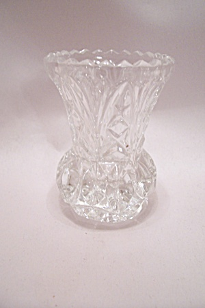 Brilliant Crystal Pineapple Glass Toothpick Holder