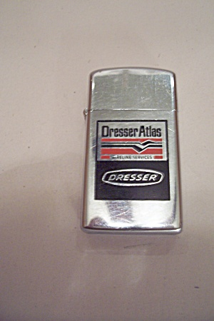 Zippo Dresser Atlas Advertising Pocket Lighter