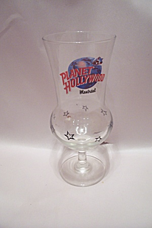 Planet Hollywood Montreal Souvenir Crystal Drink Glass