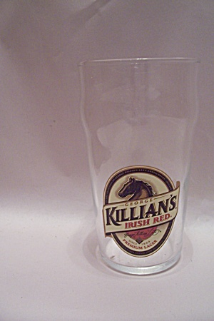 George Killian's Irish Red Crystal Beer Glass