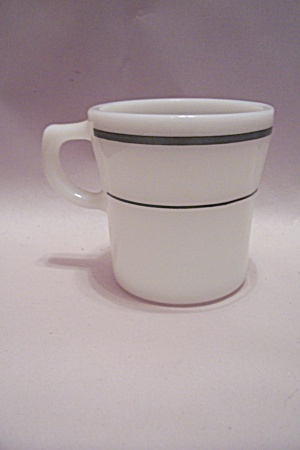 Fire King Milk Glass Restaurant/institutional Mug