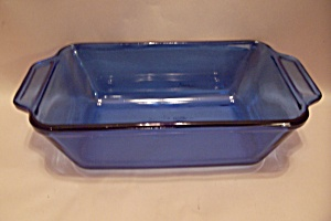 Fire King/anchor Hocking Cobalt Blue Loaf Dish