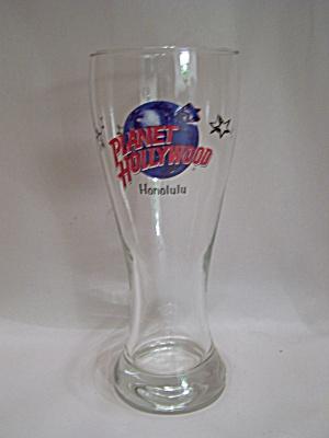 Planet Hollywood Honolulu Crystal Drink Glass (Image1)