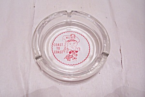 Souvenir Milner Coast To Coast Advertising Ash Tray