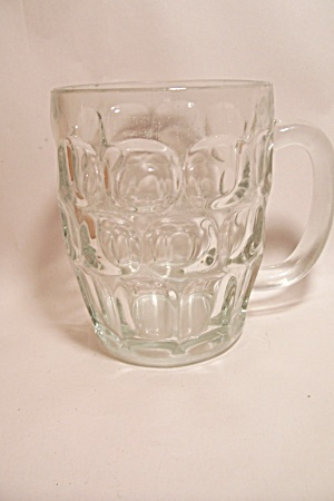 Crystal Glass Thumbprint Mug
