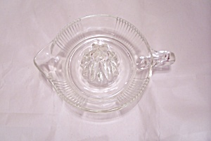 Crystal Pattern Glass Reamer/juicer