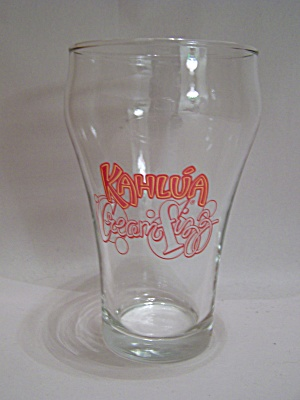 Crystal Kahlu'a Drink Glass (Image1)
