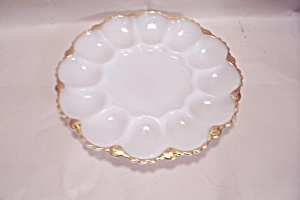Fire King/anchor Hocking Egg Serving Dish