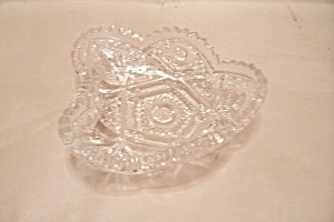 Crystal Cut Glass Candy Dish