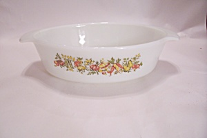 Fire King/anchor Hocking Glass Oval Casserole